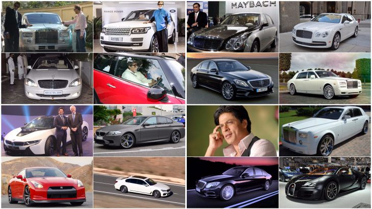 Indian Celebrities Tycoons And Cars Vijay Mallya Salman Khan Mukesh Ambani