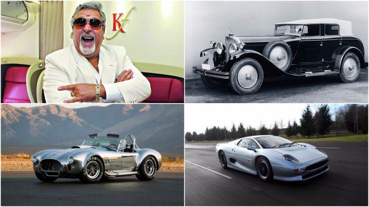 Indian Celebrities Tycoons And Cars Vijay Mallya Salman Khan