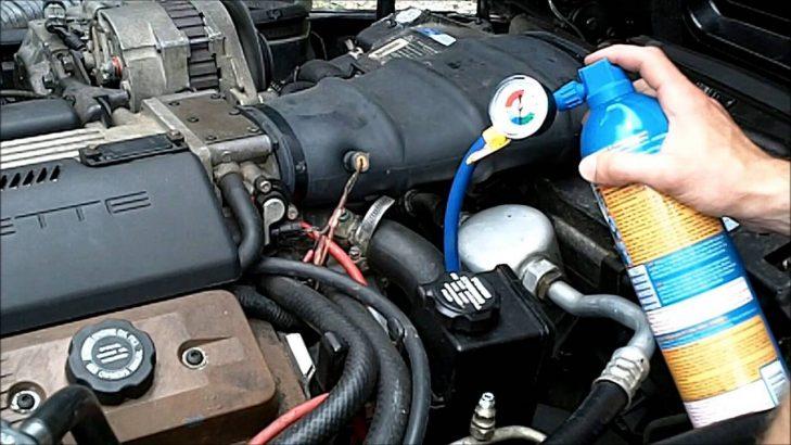 Car Ac Air Conditioner  Refill