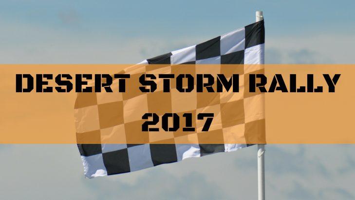 Maruti Suzuki At Desert Storm Rally 2017