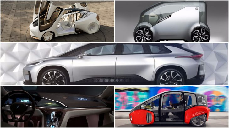World's Most Amazing Future Cars Unveiled At Consumer Electronics Show 2017