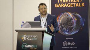 Tyrexpo Asia 2017 Tony Rhoades