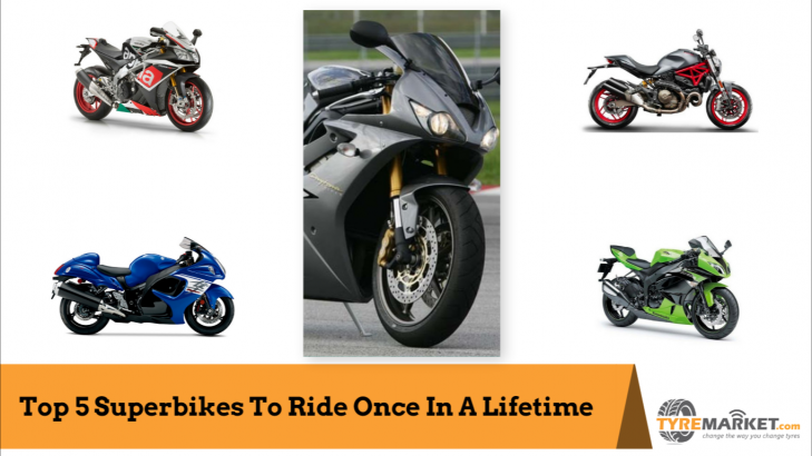 Top 5 Superbikes To Ride Once In A Lifetime
