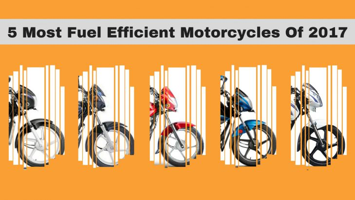5 Most Fuel Efficient Motorcycles Of 2017