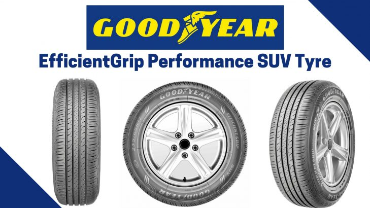 Goodyear Car >> Goodyear EfficientGrip Performance SUV Tyre Launched