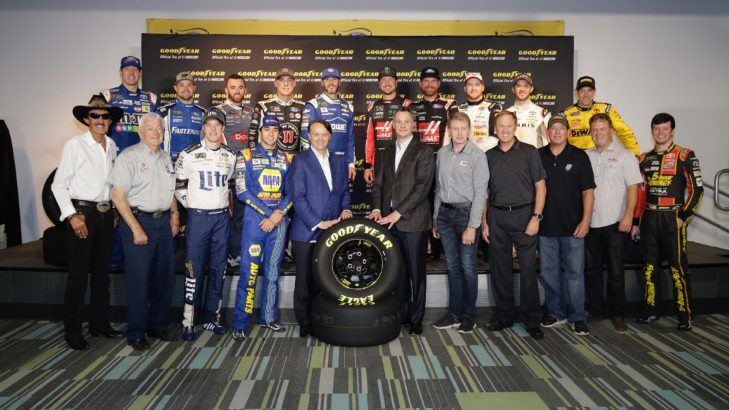 Goodyear and NASCAR Get Into Multi-Year Agreement
