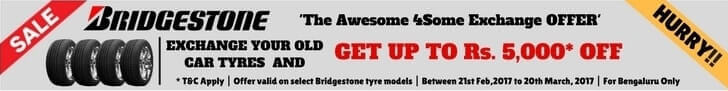 BRIDGESTONE Tyre Echange Offer