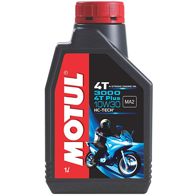 Motul 3000 4T PLUS 10w30 Mineral HC-Tech 4 Stroke Motor Cycle 900 ml Two Wheeler Engine Oils