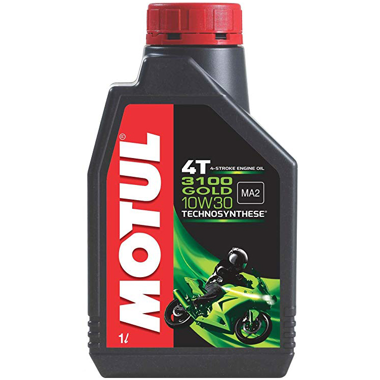 Motul 3100 4T GOLD 10w30 Technosynthese 4 Stroke Motor Cycle 900 ml Two Wheeler Engine Oils