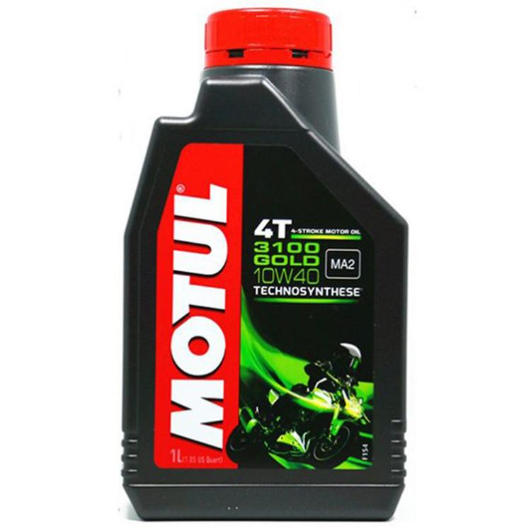 Motul 3100 4T GOLD 10w40 Technosynthese 4 Stroke Motor Cycle 1.2 litre Two Wheeler Engine Oils