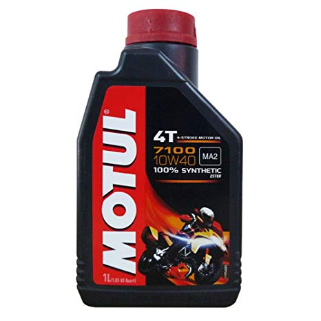Motul 7100 4T 10w40 100 percent synthetic Estercore 4 Stroke Motor Cycle 1 litre Two Wheeler Engine Oils
