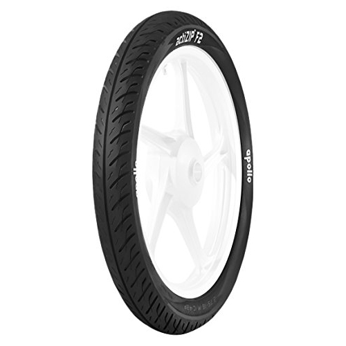 Apollo ACTIZIP F2 2.75 18 Requires Tube   Front Two-Wheeler Tyre