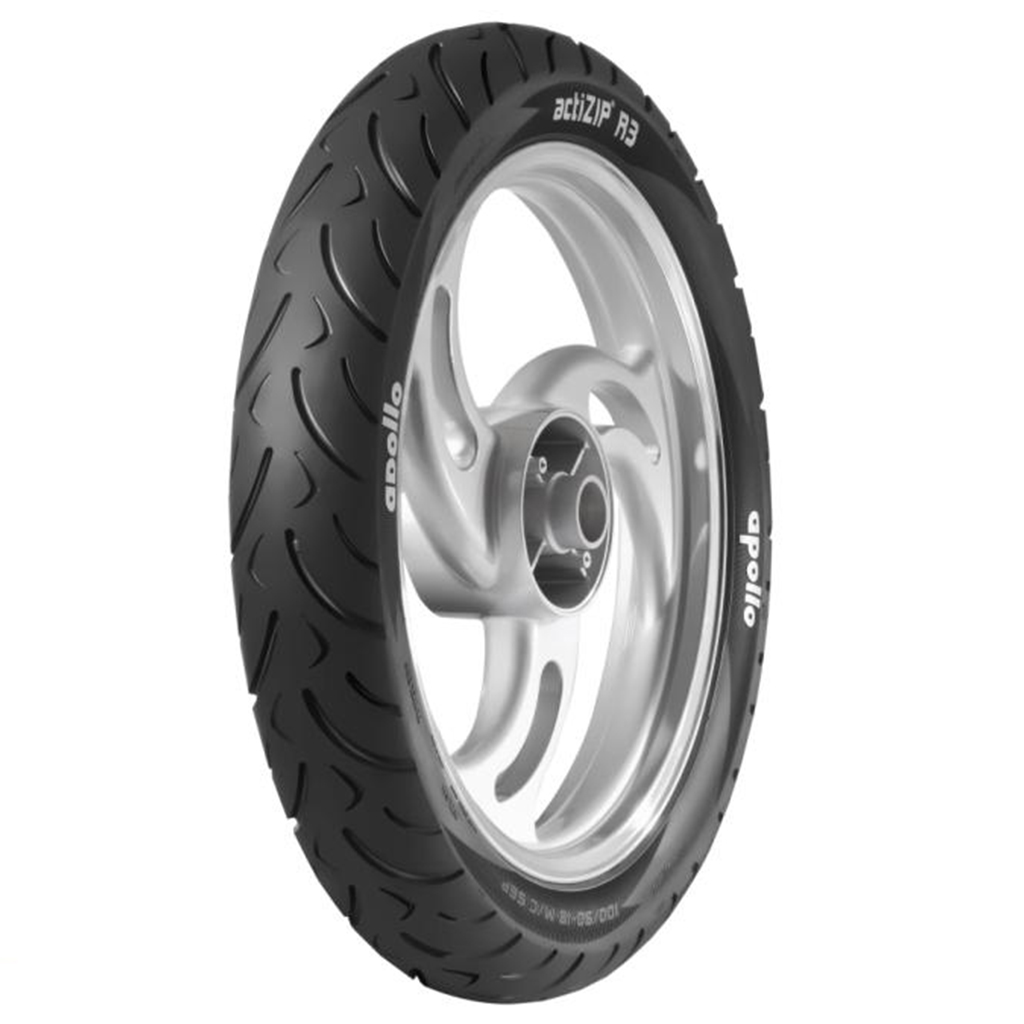 Apollo ACTIZIP R3 100/90 17 Tubeless Rear Two-Wheeler Tyre