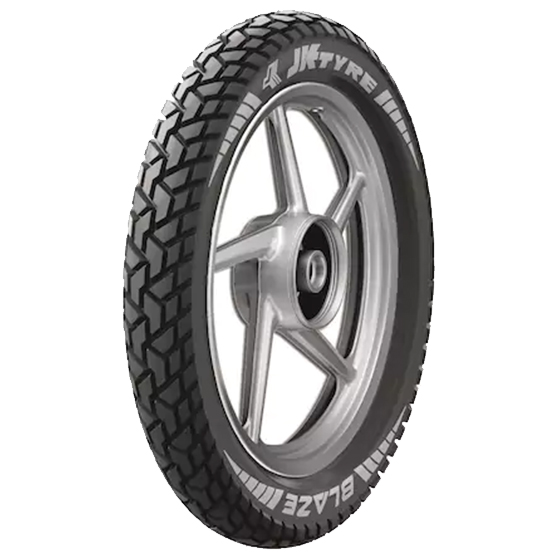 JK BLAZE BR21 3.00 17 Requires Tube Rear Two-Wheeler Tyre