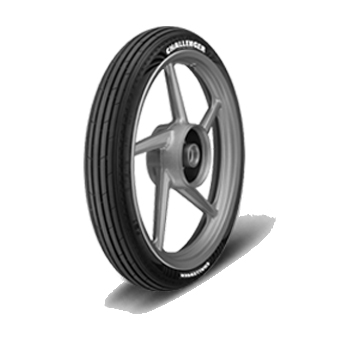 JK CHALLENGER F81 2.75 18 Requires Tube 48 P Front Two-Wheeler Tyre