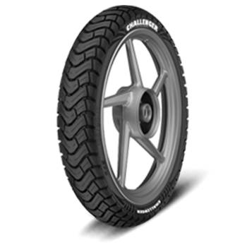 JK CHALLENGER R45 100/90 17 Requires Tube 55 P Rear Two-Wheeler Tyre