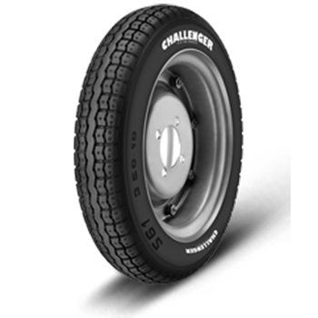 JK CHALLENGER S61 3.50 10 Requires Tube 51 J Front/Rear Two-Wheeler Tyre