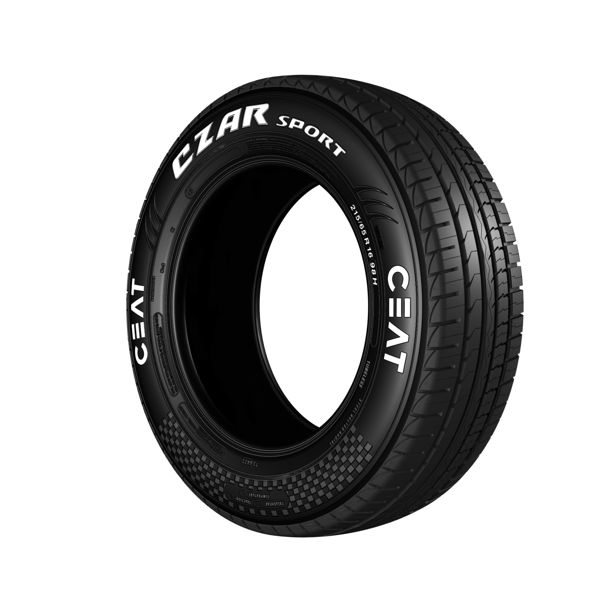 CEAT CZAR SPORTS 205/60 R 16 Tubeless 92 H Car Tyre