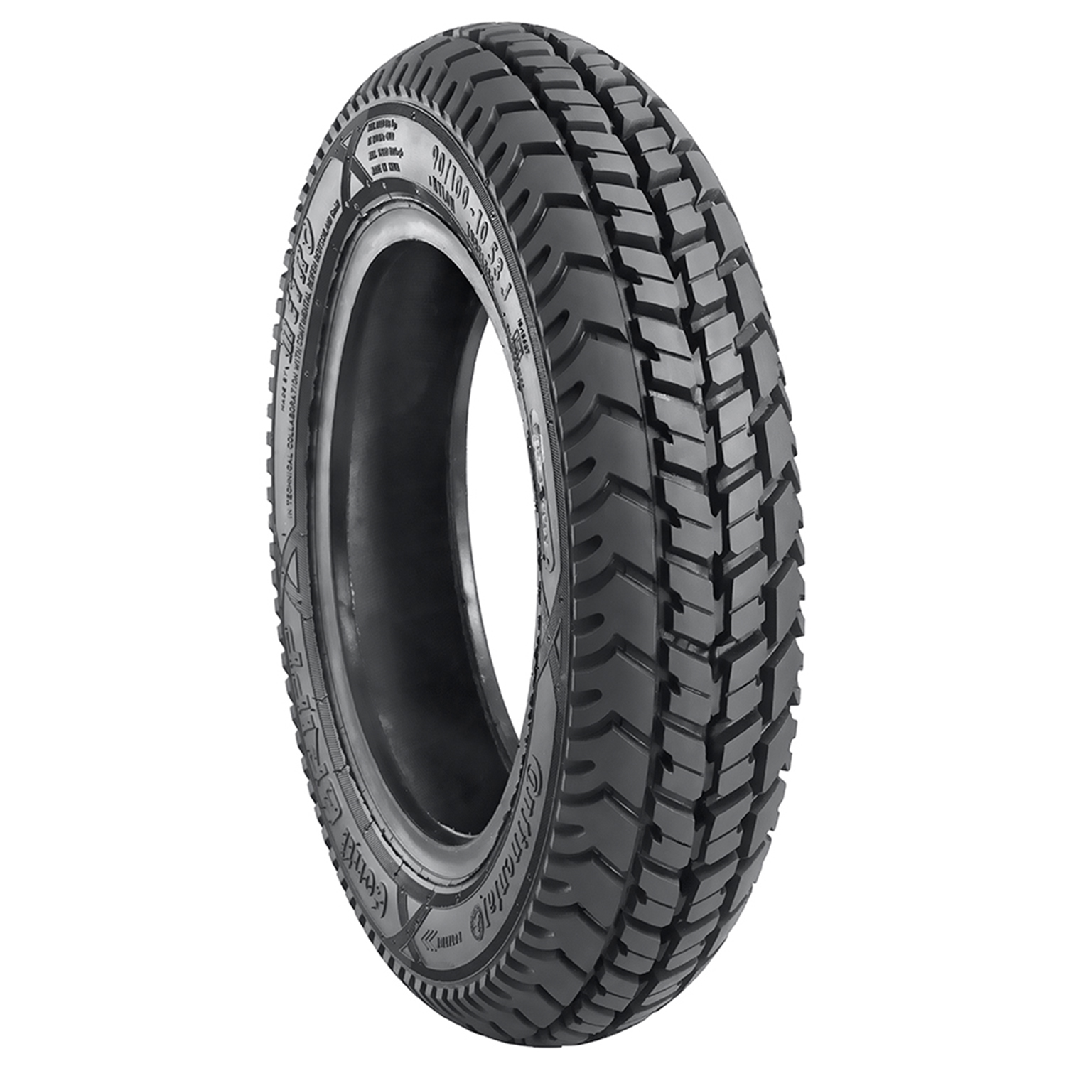 Metro CONTI GRIP 90/100 10 Requires Tube Rear Two-Wheeler Tyre