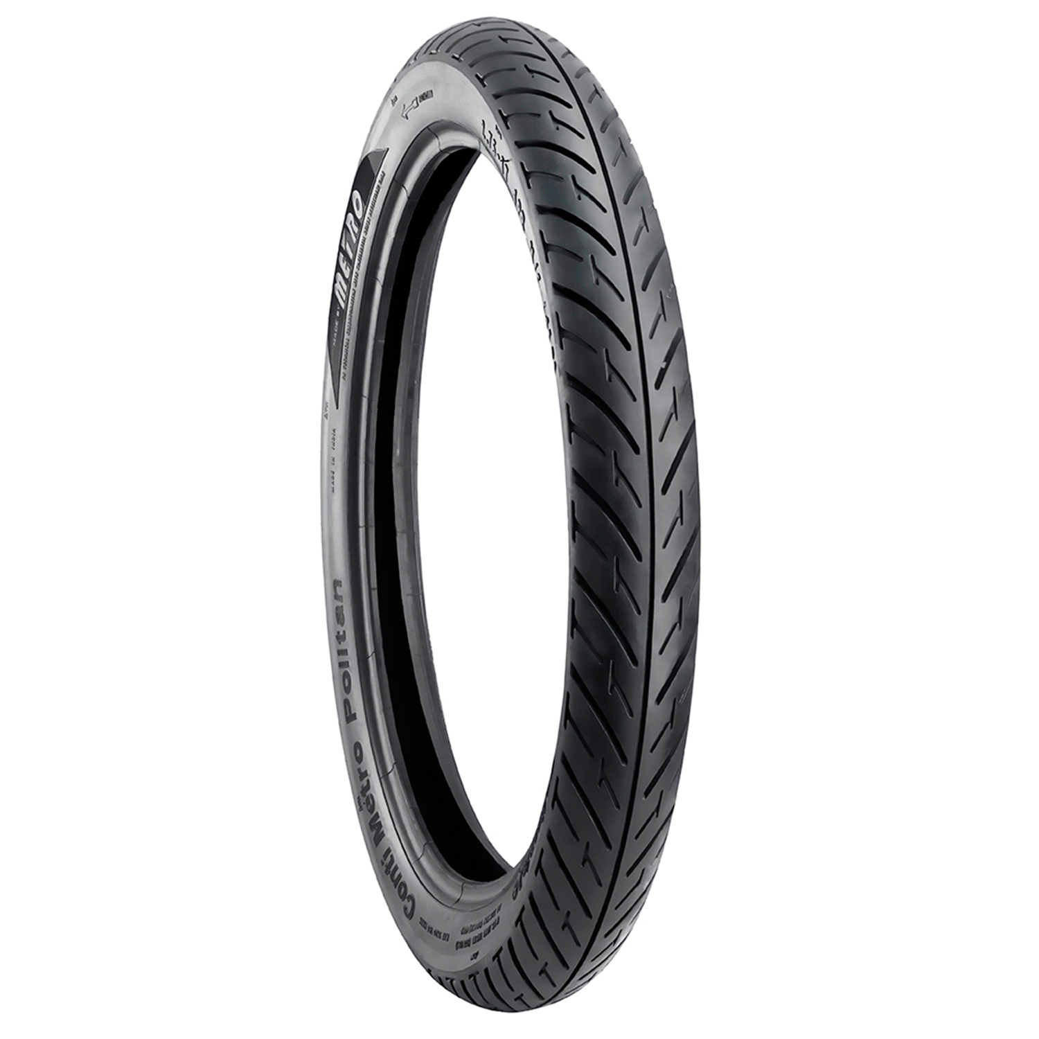 Metro CONTI METRO POLITAN 2.75 17 Requires Tube Front/Rear Two-Wheeler Tyre