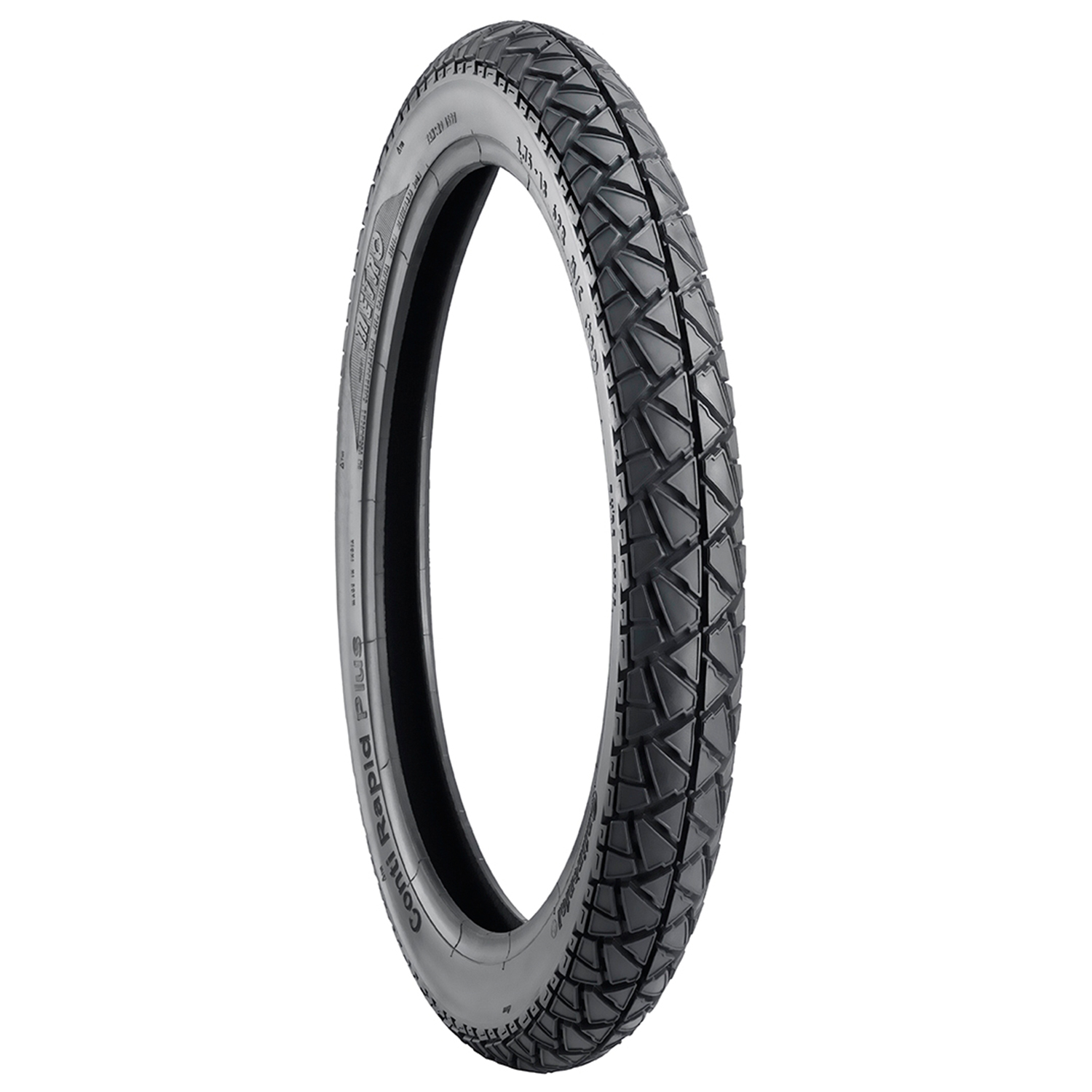 Metro CONTI RAPID PLUS 3.00 18 Requires Tube Rear Two-Wheeler Tyre