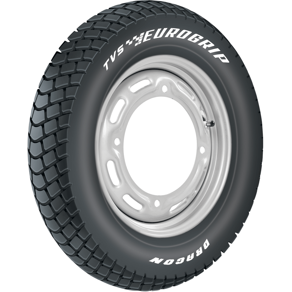TVS DRAGON 90/90 12 Tubeless 54 J Rear Two-Wheeler Tyre