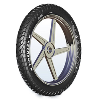 Birla FIREMAXX R45 120/80 17 Tubeless Rear Two-Wheeler Tyre