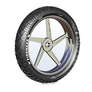 Birla FIREMAXX R51 100/90 17 Tubeless Rear Two-Wheeler Tyre