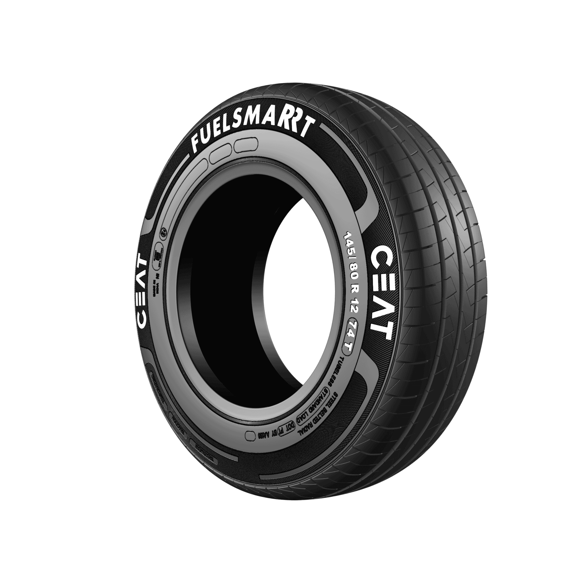 CEAT FUEL SMARRT 155/65 R 14 Tubeless 75 T Car Tyre