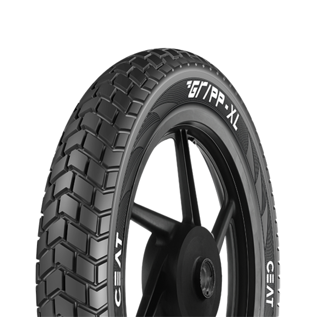 Ceat GRIPP XL 90/90 - 19 Tubeless 52 P Front Two-Wheeler Tyre