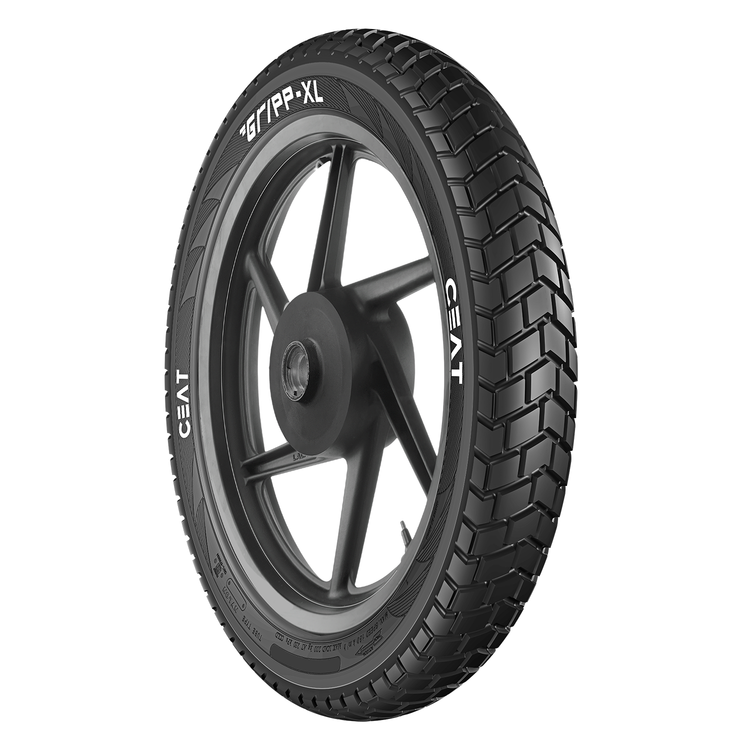 Ceat Gripp Xl 3 00 18 Requires Tube P Rear Two Wheeler