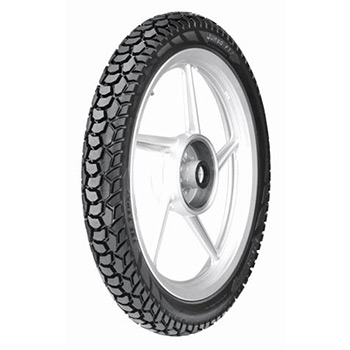TVS JUMBO PT 2.50 16 Requires Tube 41 L Rear Two-Wheeler Tyre