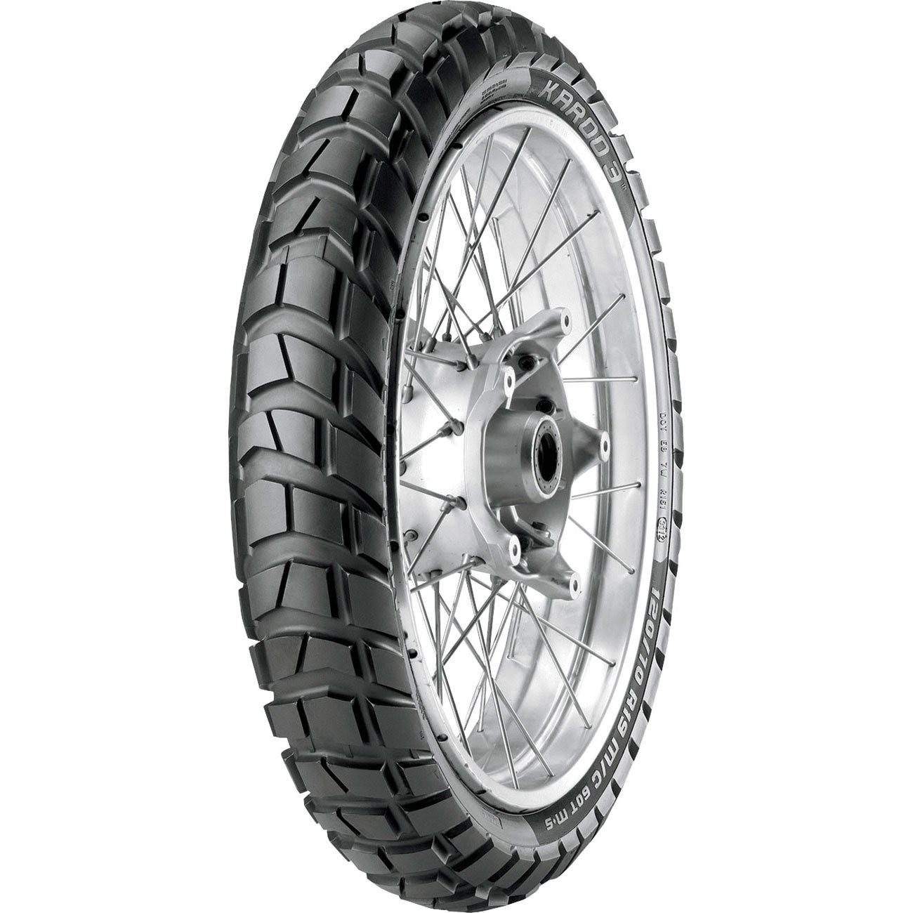 Metzeler Karoo 3 120/70 ZR 19 Tubeless 60 T Front Two-Wheeler Tyre