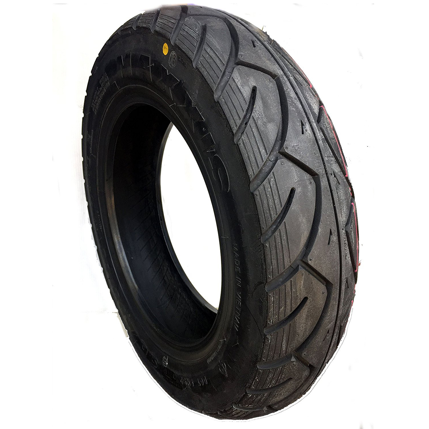 Maxxis M6000 90/90 12 Tubeless 53 J Front/Rear Two-Wheeler Tyre