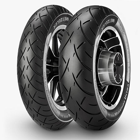 Metzeler ME 880 150/80 R 17 Tubeless 72 V Rear Two-Wheeler Tyre