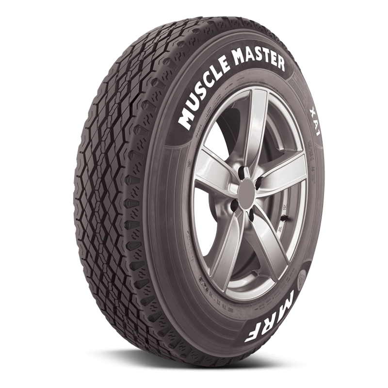 MRF Muscle Master XA1 215/75 R 15 Requires Tube 105 Q Car Tyre