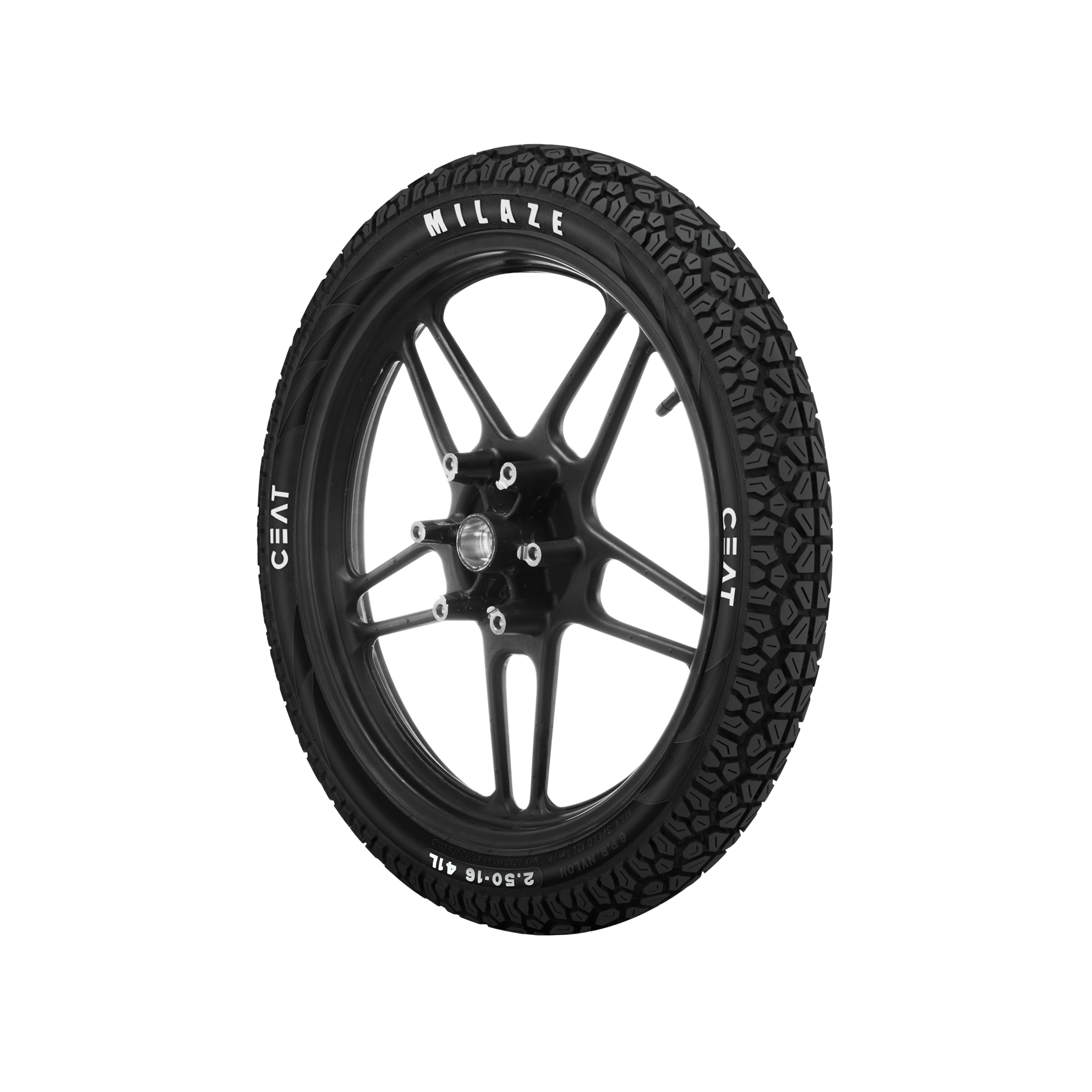 Ceat MILAZE 3-50 R 10 Front/Rear Two-Wheeler Tyre