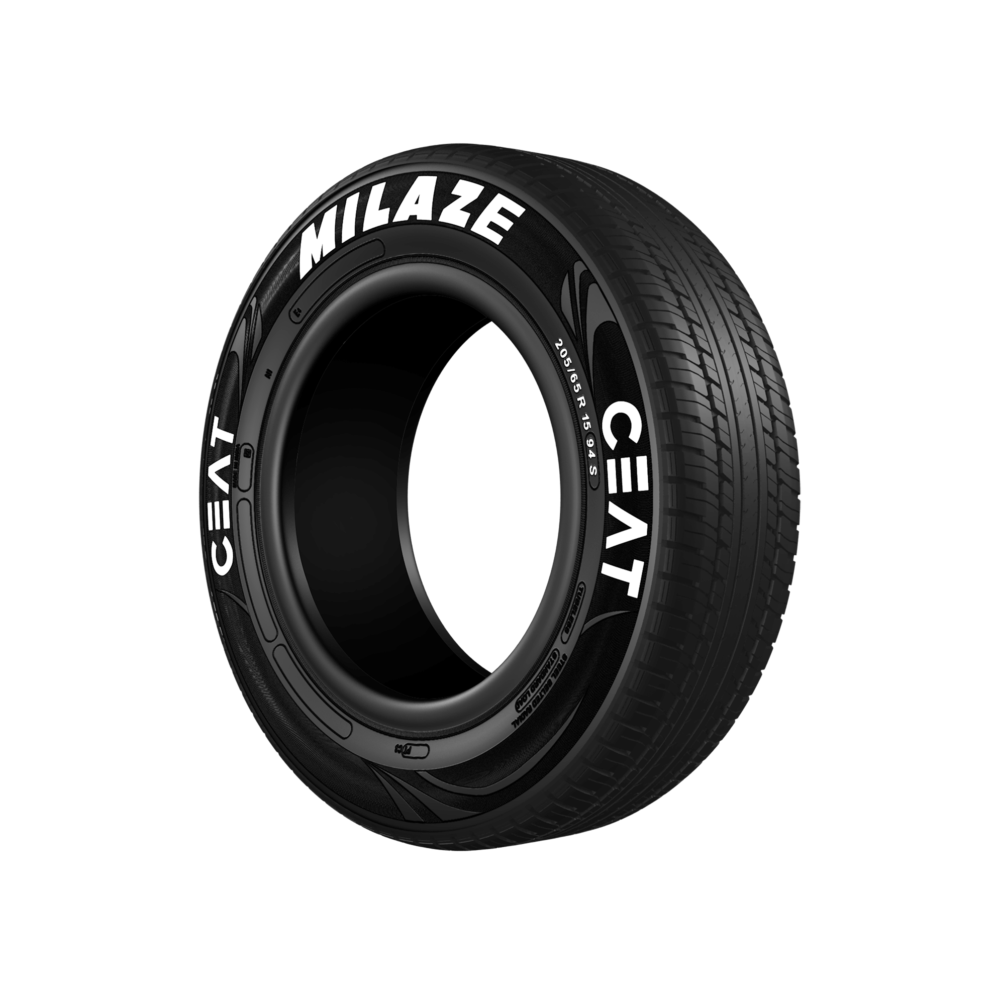 CEAT MILAZE 165/65 R 13 Requires Tube 77 T Car Tyre