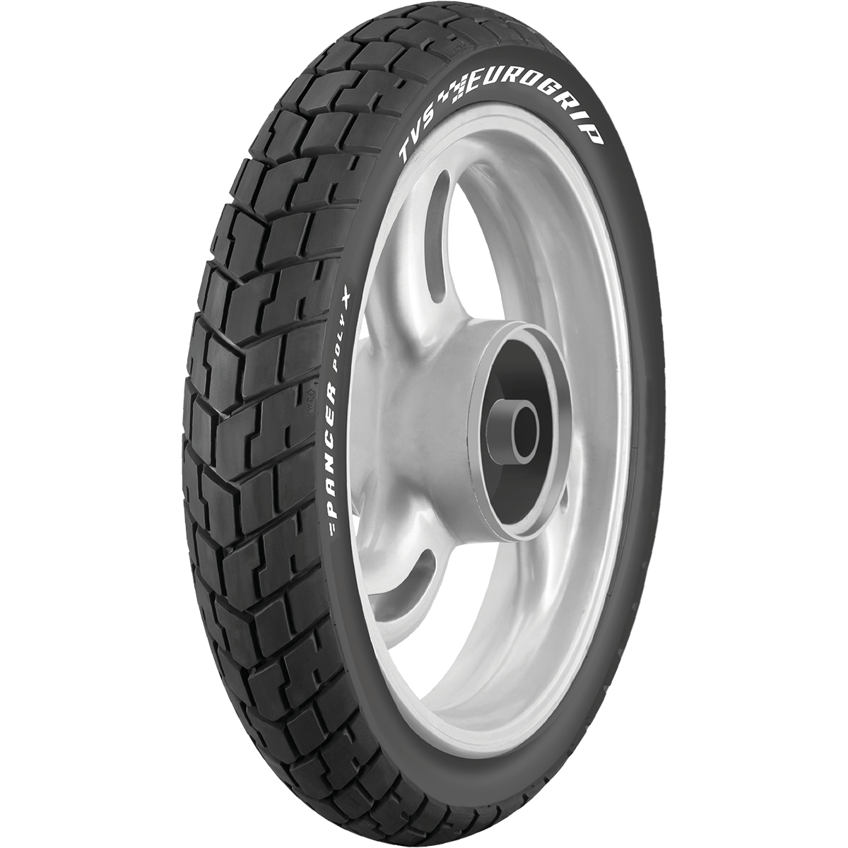 TVS PANCER POLYX 120/80 17 Tubeless 61 P Rear Two-Wheeler Tyre