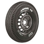 CEAT ANMOL RIB 155/ R 12 Requires Tube 88 J Car Tyre