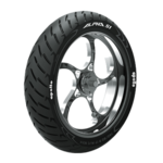 Apollo Alpha S1 130/70 R 17 Tubeless 62 H Rear Two-Wheeler Tyre