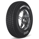 CEAT FORMULA 1 STEEL 215/75 R 15 Requires Tube 115 S Car Tyre