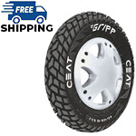 Ceat GRIPP 90/100 R 10 Requires Tube 53 J Front/Rear Two-Wheeler Tyre