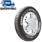 Ceat ZOOM D 90/100 R 10 Tubeless 53 J Front/Rear Two-Wheeler Tyre