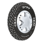 Ceat GRIPP 90/100 R 10 Requires Tube Front/Rear Two-Wheeler Tyre