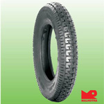Malhotra MR707 3.50 R 10 Front/Rear Two-Wheeler Tyre