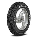 CEAT MILAZE 90/100 10 Requires Tube 53 J Front/Rear Two-Wheeler Tyre