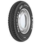 Birla ROADMAXX S61 3-00 R 10 Front/Rear Two-Wheeler Tyre