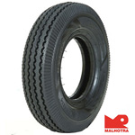 Malhotra Tuff Rib 4-50 R 10 Front/Rear Two-Wheeler Tyre