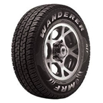 MRF Wanderer 215/75 R 15 Requires Tube 100 S Car Tyre
